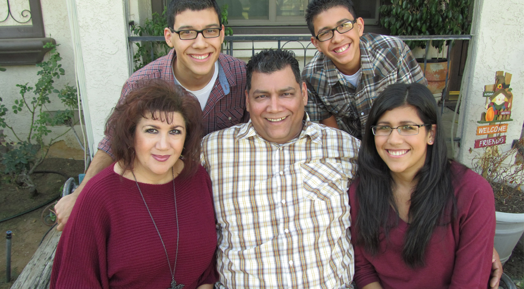Photo of Robert Garcia family