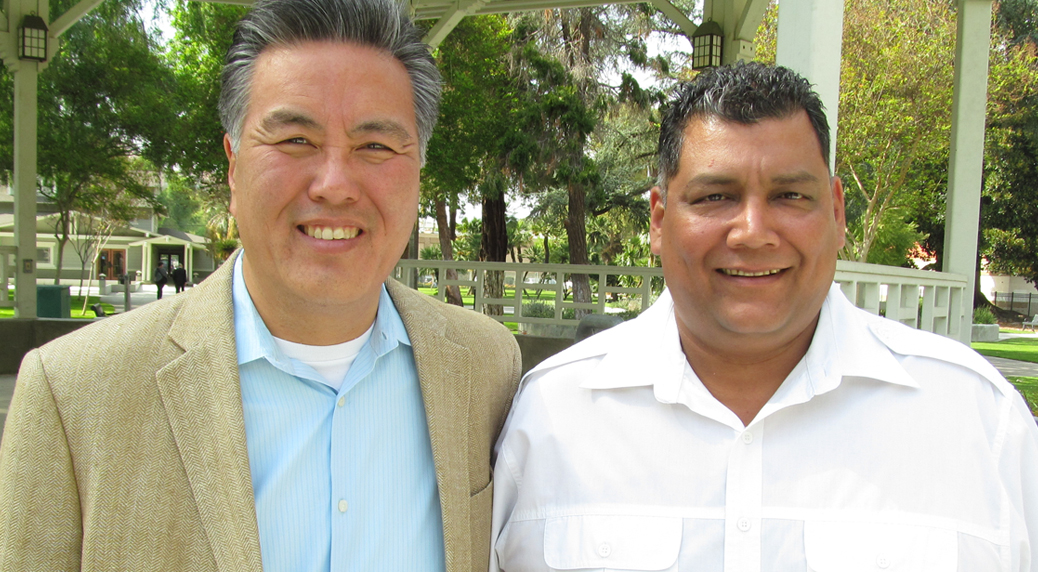 Mark Takano and Robert Garcia